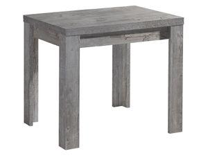 möbelando Esszimmertisch Holztisch Küchentisch Tisch Speisentisch Esstisch Flocke I Beton