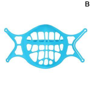 3D Maske Halterung Silikon Gesicht Maske Halterung Maske Halterung Inneren Unterstützung Rahmen für Mehr Atmen Space Kühlen Lippenstift Schutz Stand