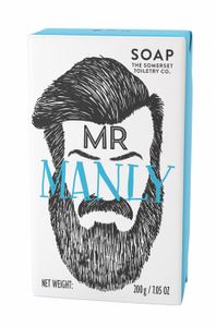 THE SOMERSET Herrenseife 200g - Mr Manly (Salbei)