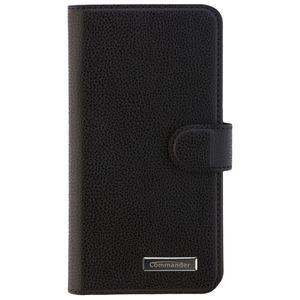 COMMANDER BOOK CASE ELITE für Samsung Galaxy J5 (2017) - Black