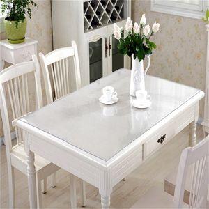 Tischfolie Tischdecke Klarsichtfolie Glasklar Tischschutz Folie Transparent PVC 70x120cm