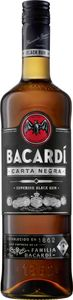 Bacardí Carta Negra Superior Black Rum Puerto Rico | 38 % vol | 0,7 l