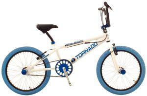 Bike Fun Freestyle Tornado 20 Zoll 31 cm Unisex Felgenbremse Weiß/Blau