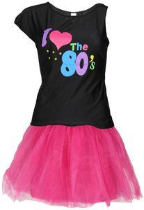 80er Jahre Damen Kostüm Set, Größe:S
