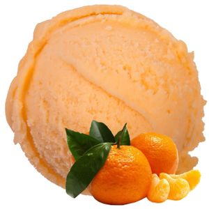 Mandarine Geschmack Eispulver Softeispulver 1:3
