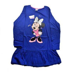 Minnie Maus & Daisy Mädchenkleid mit Glitzer, blau, Größen 104 bis 134 128