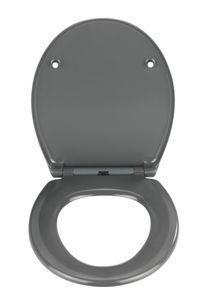 Premium WC-Sitz Samos Grau