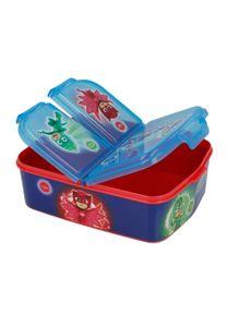 PJ Masks Kinder Premium Brotdose Lunchbox Frühstücks-Box Vesper-Dose mit 3 Fächern