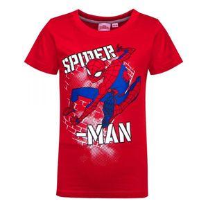 Spiderman Jungen Tshirt, rot, Gr. 92-128 Größe - 116