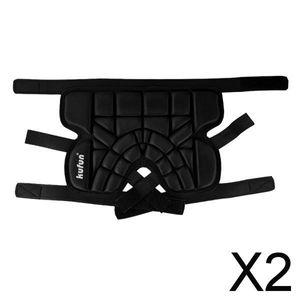 2X Einstellbare, 3D-gepolsterte, Kurze Hüftschutzhose EVA-gepolsterte, Kurze