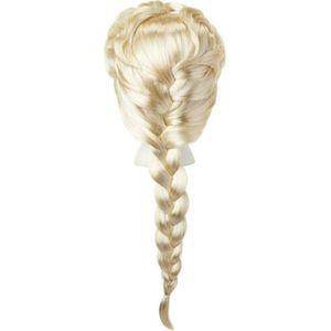 Elsa-Perücke für Mädchen Frozen 2 Karnevals-Accessoire blond
