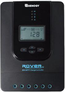 Renogy 20A 12/24 V MPPT Solarregler Solarmodul Laderegler mit LCD-Bildschirm