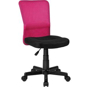 tectake Bürostuhl Patrick - schwarz/pink