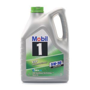 5 Liter MOBIL ESP ESP 1 ACEA C2 API SN ACEA C3 API SM API SL API SJ MB 229.31 MB 229.51 MB 229.52 VW 504 00 VW 507 00 PSA B71 2290 Porsche C30 dexos2