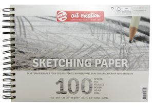 """Talens Art Creation """"Skizzenpapier"""", 100 Blatt, 90g/qm DIN A4"""