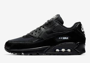 Nike Air Max 90 EU Gr.43 NEU Herren Sneaker Schuhe Sport Fitness Freizeit Schwarz/Weiß AJ1285019