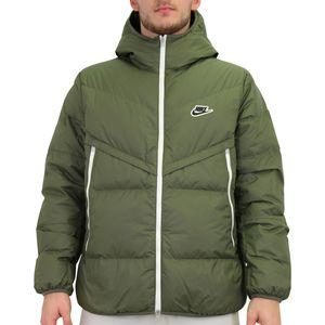 Nike Sportswear Windrunner Daunenjacke Winterjacke Herren Grün (CU4404 380) Größe: L