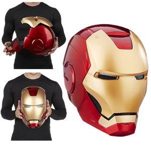 Super Hero Iron Man Elektronischer Helm mit LED ,für Erwachsene (ab 18 jahre),das Beste Spielzeug/Geschenk