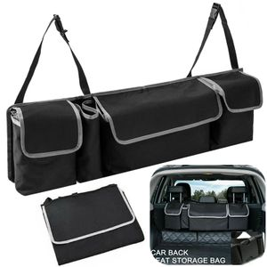 Autotasche Kofferraumtasche Auto Kofferraum Tasche Organizer Aufbewahrung Oxford Schwarz