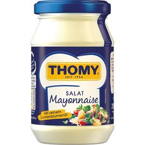 Thomy Salat Mayonnaise cremig mit reinem Sonnenblumenöl 250ml