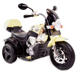 Kinder Elektro Chopper Strike Elektromotorrad 6V Kindermotorrad elektrisch Topcase