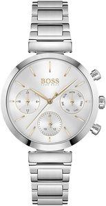 Hugo Boss Damen Multi Zifferblatt Armbanduhr in Silber/Silber|1502530