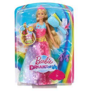 Barbie Dreamtopia Regenbogen-Königreich Magische Haarspiel-Prinzessin (blond)