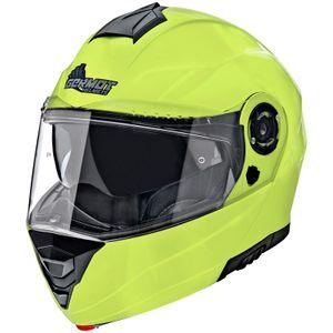 Germot Motorrad Helm GM 960 Klapphelm Yellow-M