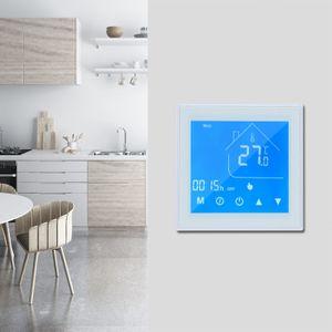 WiFi Smart Thermostat Temperaturregler LCD Display Week Programmierbar fš¹r Warmwasserbereitung Tuya APP Control Kompatibel mit Alexa Google Home