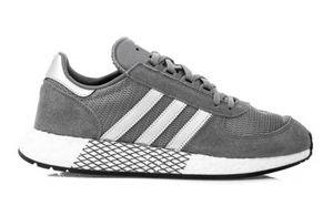 adidas Marathon Sneaker Schuhe Grau, Größe:46