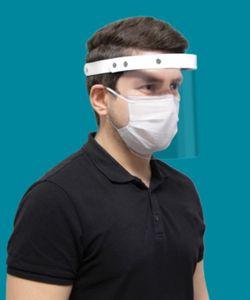 Gesichtsmaske - Face Shield - Mund-Nasen-Bedeckung - Gesichtsvisier