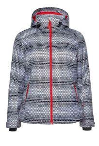 MAIER SPORTS Damen Marken-Skijacke, schwarz-weiß, Größe:58