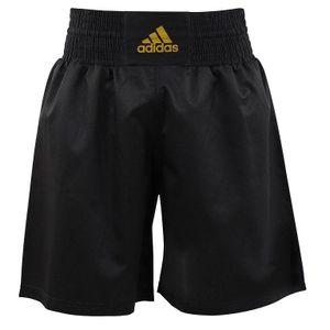 adidas Multi Boxing Short Schwarz/Gold-XXS