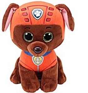 TY Beanie Boos Glubschi Paw Patrol Zuma 24cm Hund braun Stofftier Plüschtier