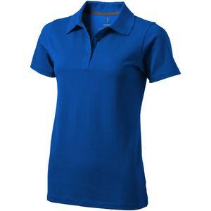 Elevate Seller Kurzarm Damen Polo PF1826 (M) (Blau)