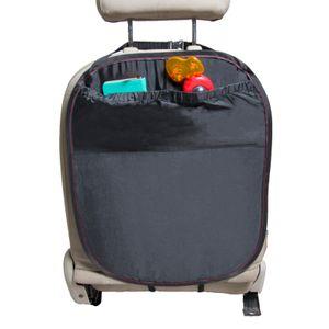 Rückenlehnenschutz schwarz Rücksitzschoner 41,9 x 56,5 cm Rückenlehnenschoner