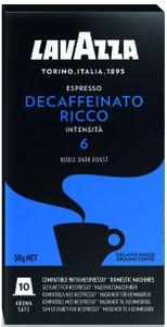 Lavazza Espresso Decaffeinato Ricco | 10 Nespresso® komp. Kapseln