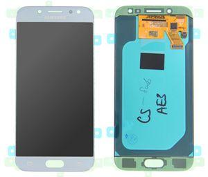 LCD Display für Samsung Galaxy J5 (2017) J530F Touchscreen Blau Silber Original - GH97-20738B
