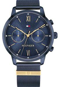 Tommy Hilfiger Damen Multi Zifferblatt Blau/Blau Edelstahl Armbanduhr | 1782305