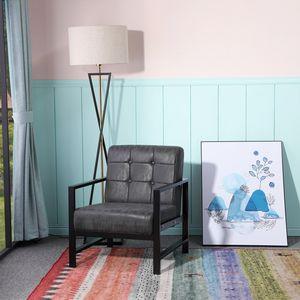 Esszimmerstühle Lounge Sessel Stuhl für Wohnzimmer Schlafzimmer Skandinavisches Relaxsessel,Schwarz,Eisenbeine