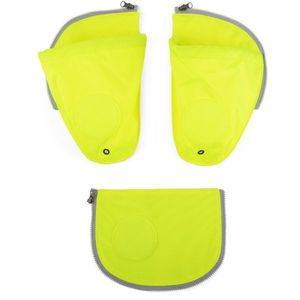 ergobag pack Seitentaschen Zip-Set 3tlg. Sicherheitsset Kinder Gelb