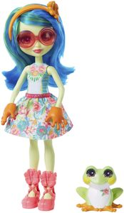 Enchantimals Tamika Tree Frog & Burst Puppe