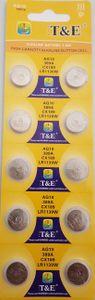 10x AG 10 Uhrenbatterie 390 389 für Armbanduhr Knopfzelle SR 1130 V390 LR 1131
