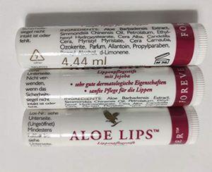 ALOE Vera LIPS LIP Lippenpflegestift - Set 3 Stück