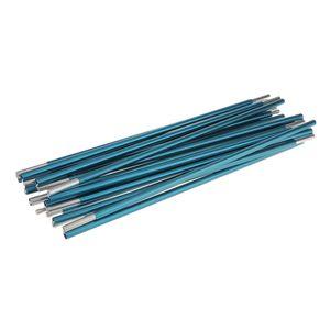 13 Abschnitte Camping Im Freien Wandern Reisen Zeltstangen Aus Aluminiumlegierung   Alle Größen Farbe Blau Φ 9,5 mm 408 cm