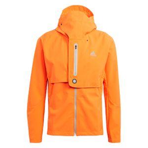adidas Herren Laufjacke Urban WIND.RDY  Orange M