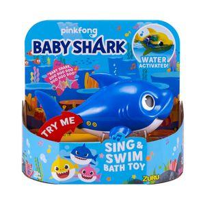 PINKFONG ZURU Baby Shark Badewanne Toys Alive Kinder Spielzeug ROBO Fisch BLAU