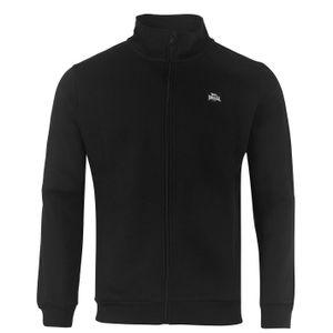 Lonsdale Herren, Herren 2 Stripe Zip Sweatshirt Small