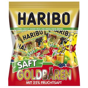 Haribo Saft Goldbären Minis extraweich mit 25% Fruchtsaft 220g
