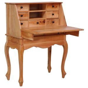 vidaXL Sekretär 78×42×103 cm Massivholz Mahagoni